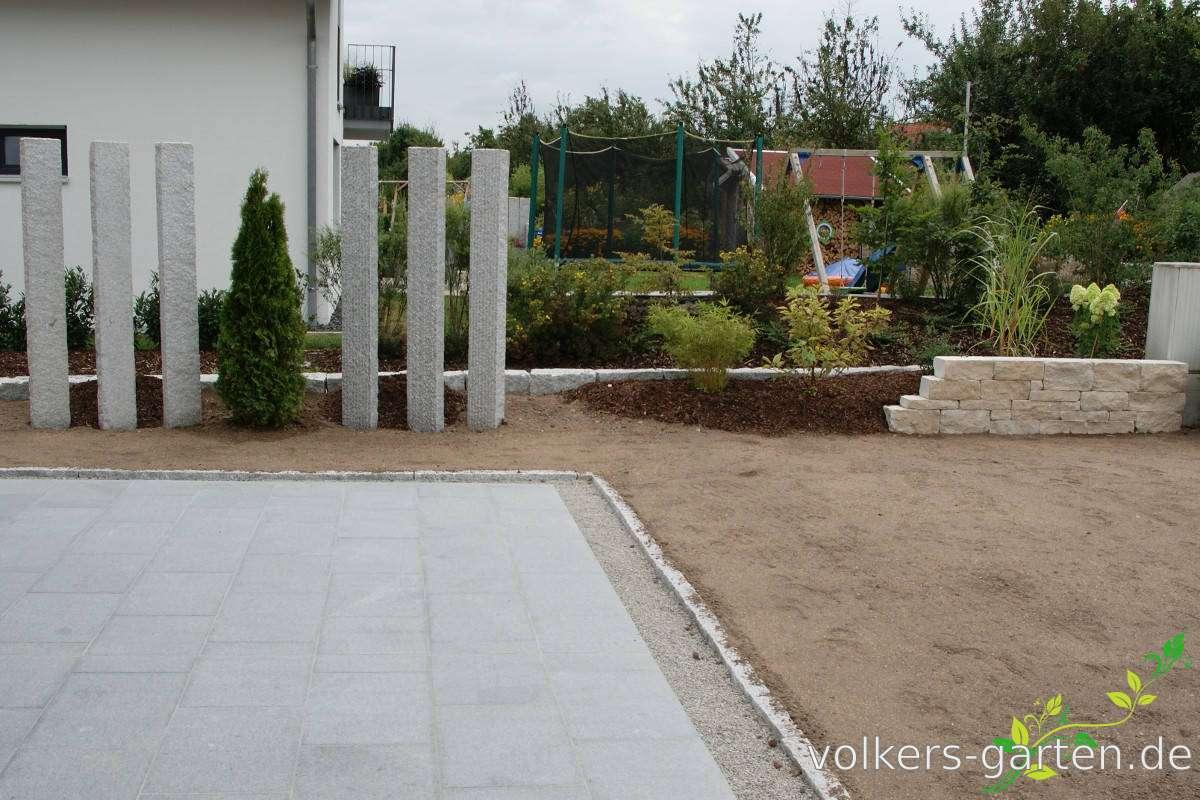 Mauern und Sichtschutz Volker Westerfeld Gartengestaltung pflege